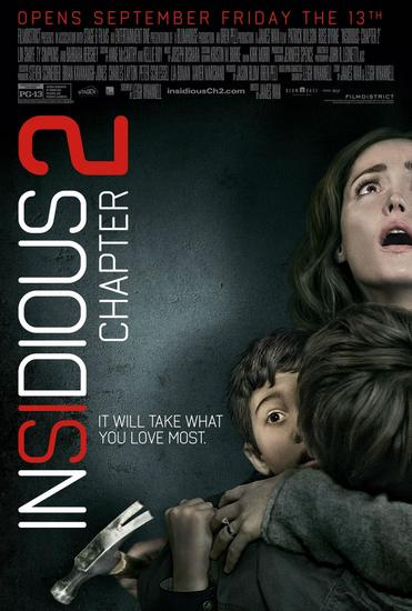 10/03/2014 : JAMES WAN - Insidious Chapter 2