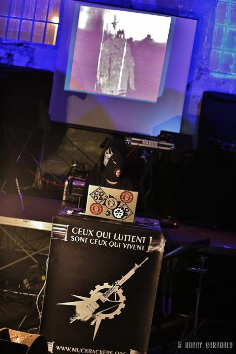 photoshoot FLUTWACHT VS. MUCKRACKERS 23+1 Jahre De Luidspreker, Café Umwalzer, Völklingen, Germany
