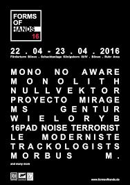 09/12/2016 : FORMS OF HANDS 16 - Bönen Germany, Festival (23/04/2016)