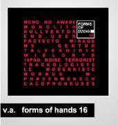 10/12/2016 : FORMS OF HANDS 16 - Hands Label Sampler