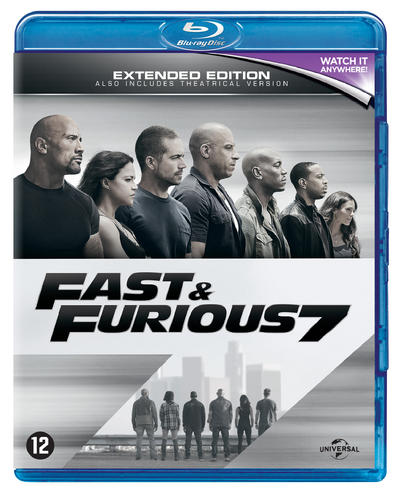 NEWS Furious 7 Extended Edition - On Blu-ray 12th August