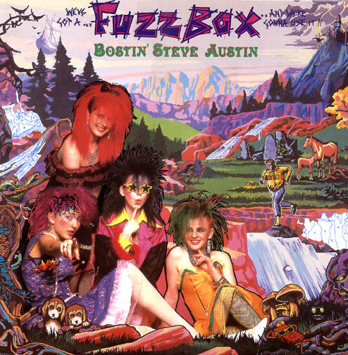 25/01/2013 : FUZZBOX - Bostin' Steve Austin