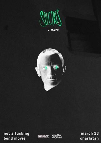 09/12/2016 : SPECTRES + MAZE - Ghent, De Charlatan (23/03/2016)
