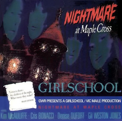 10/12/2016 : GIRLSCHOOL - Nightmare At Maple Cross
