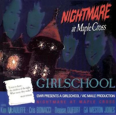 10/12/2016 : GIRLSCHOOL - Nightmare At Maple Cross