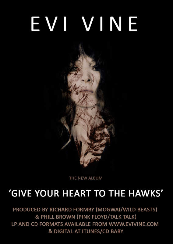 Give Your Heart To The Hawks, the 2nd album of Evi Vine