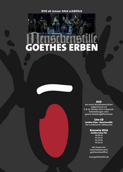NEWS Goethes Erben continues...