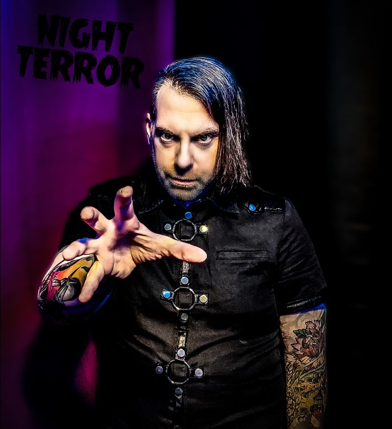 NEWS Gothic/Industrial Artist NIGHT TERROR Unleashes Freak On The Inside