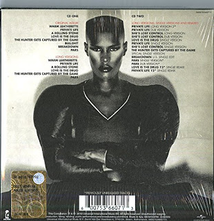 11/12/2016 : GRACE JONES - Warm Leatherette