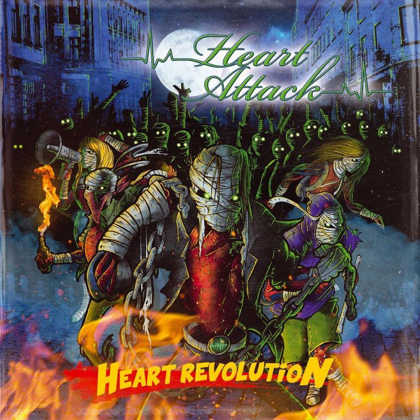 20/01/2016 : HEART ATTACK - Heart Revolution