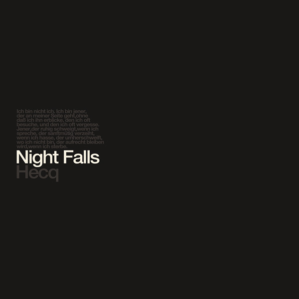09/12/2016 : HECQ - Night Falls (Remastered)