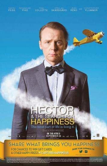 16/02/2015 : PETER CHELSOM - Hector And The Search For Happiness