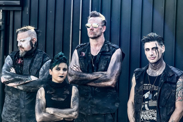 NEWS Industrial Band FLEISCHKRIEG Unleashes New Video For The Single 'Reach.'