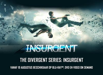 NEWS Insurgent out on Belga Home Video on 19th August.