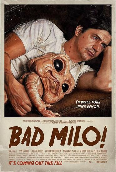 27/03/2014 : JACOB VAUGHAN - Bad Milo!