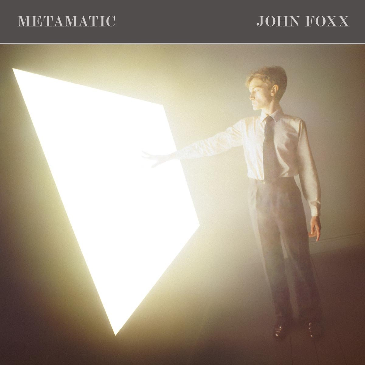 NEWS On this day, 40 ago, John Foxx released his first solo project album Metamatic!