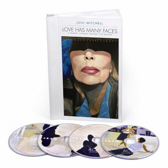 20/11/2014 : JONI MITCHELL - Love Has Many Faces: A Quartet, A Ballet, Waiting To Be Danced