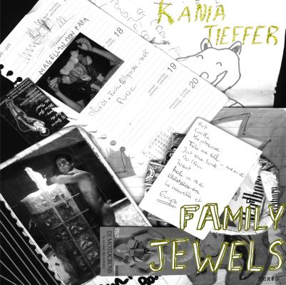 06/01/2012 : KANIA TIEFFER/FAMILY JEWELS - split 7 inch ep