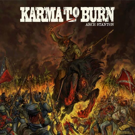 31/08/2014 : KARMA TO BURN - Arch Stanton