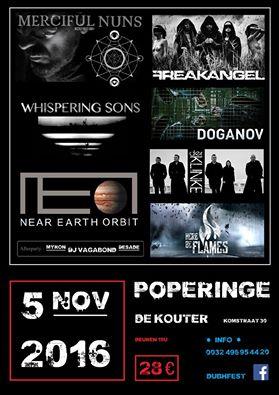 08/12/2016 :  - Dubhfest, Poperinge, 05.11.2016
