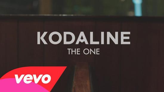 10/03/2015 : KODALINE - The One