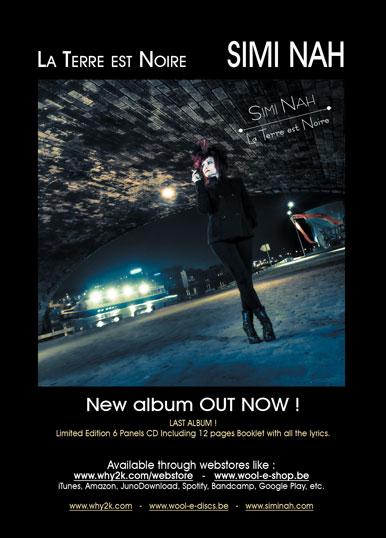 La Terre Est Noire - New Album by Simi Nah