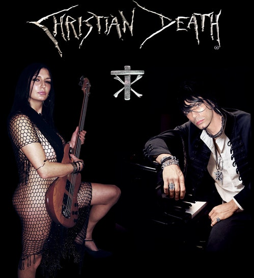 NEWS Legendary Gothic/Death Rock Band CHRISTIAN DEATH Announces Forthcoming European Tour & First Ever Live Video Chat/'Forgiven' Video Premiere