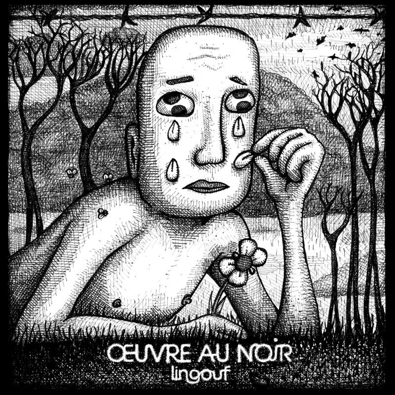04/12/2015 : LINGOUF - Oeuvre au Noir