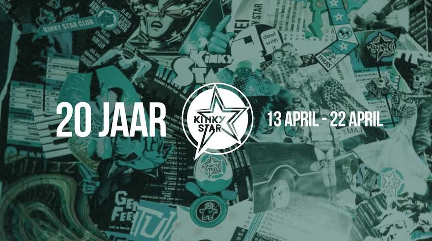 NEWS Live music club Kinky Star Ghent celebrates 20th anniversary