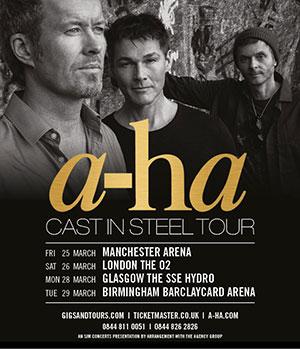 09/12/2016 : A-HA - London, O2 Arena (26/03/2016)