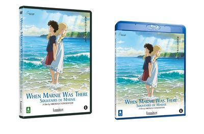 NEWS Lumière releases When Marnie Was There on both DVD and Blu-ray