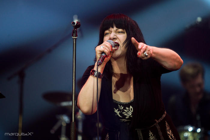LYDIA LUNCH & THE BIG SEXY NOISE - Sinner's Day, Hasselt, Belgium