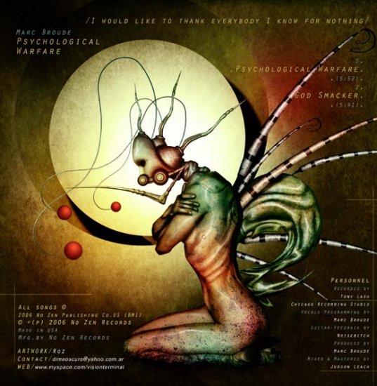 10/06/2011 : MARC BROUDE - Psychological Warfare