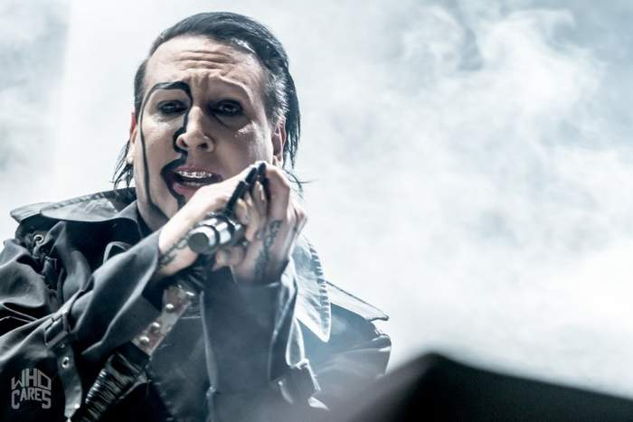 photoshoot MARILYN MANSON Graspop, Dessel