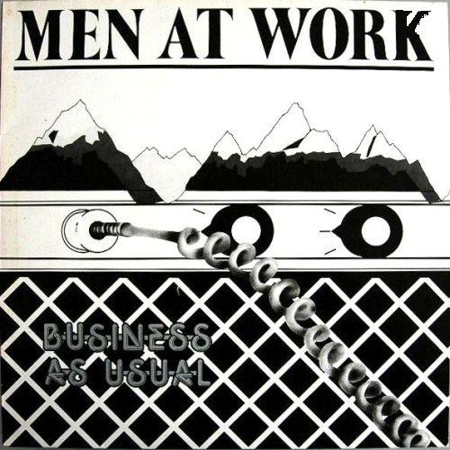 NEWS 39 years 'Business As Usual' by Men At Work (debut album)!