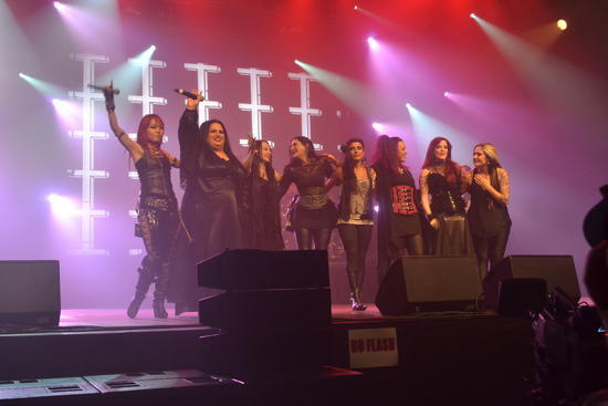 22/10/2014 : METAL FEMALE VOICES FEST - Day 1, 17/10/2014   MFV United, Ayin Aleph and more...