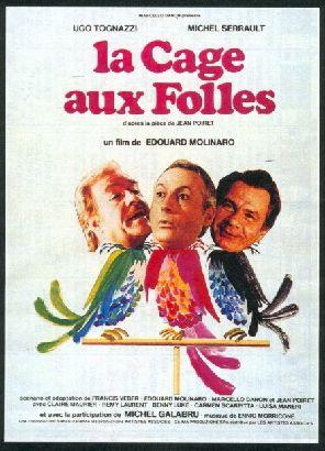 04/09/2014 : EDOUARD MOLINARO - MOVIE CLASSICS : La Cage Aux Folles