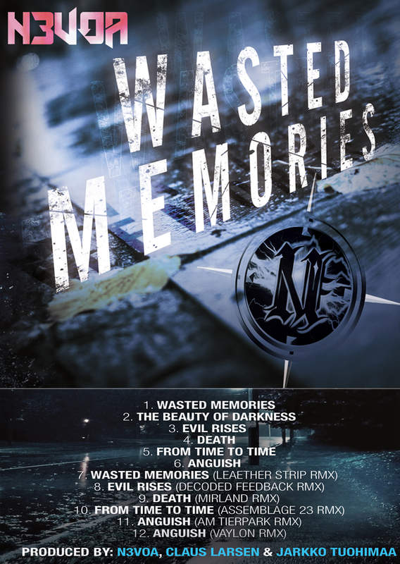 N3VOA - Wasted Memories - new album out now !