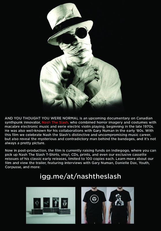 Nash The Slash documentary
