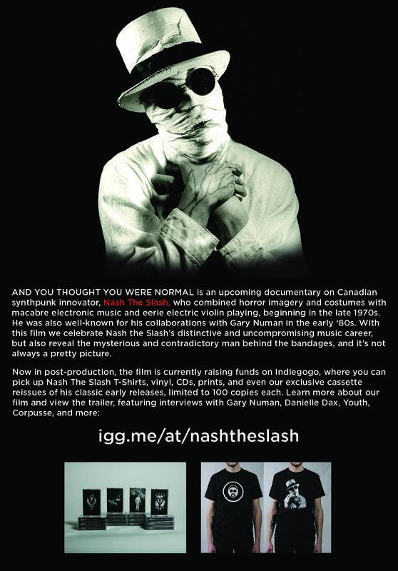 Nash The Slash documentary