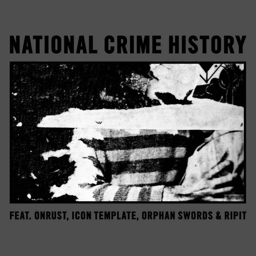 NEWS NATIONAL CRIME HISTORY - A Belgian Industrial Music compilation