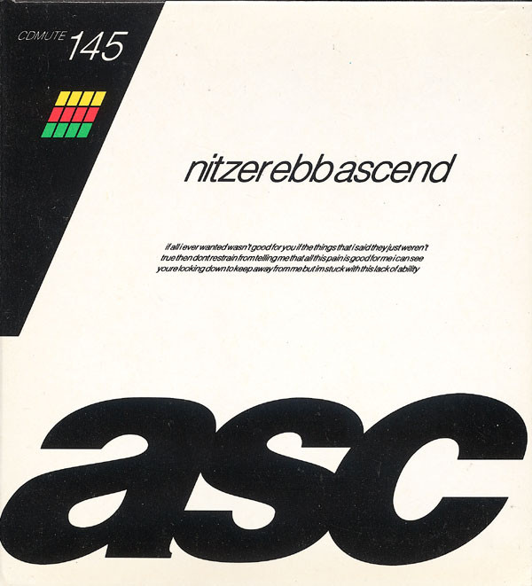 NEWS On this day, 29 years ago, Nitzer Ebb released 'Ascent'!