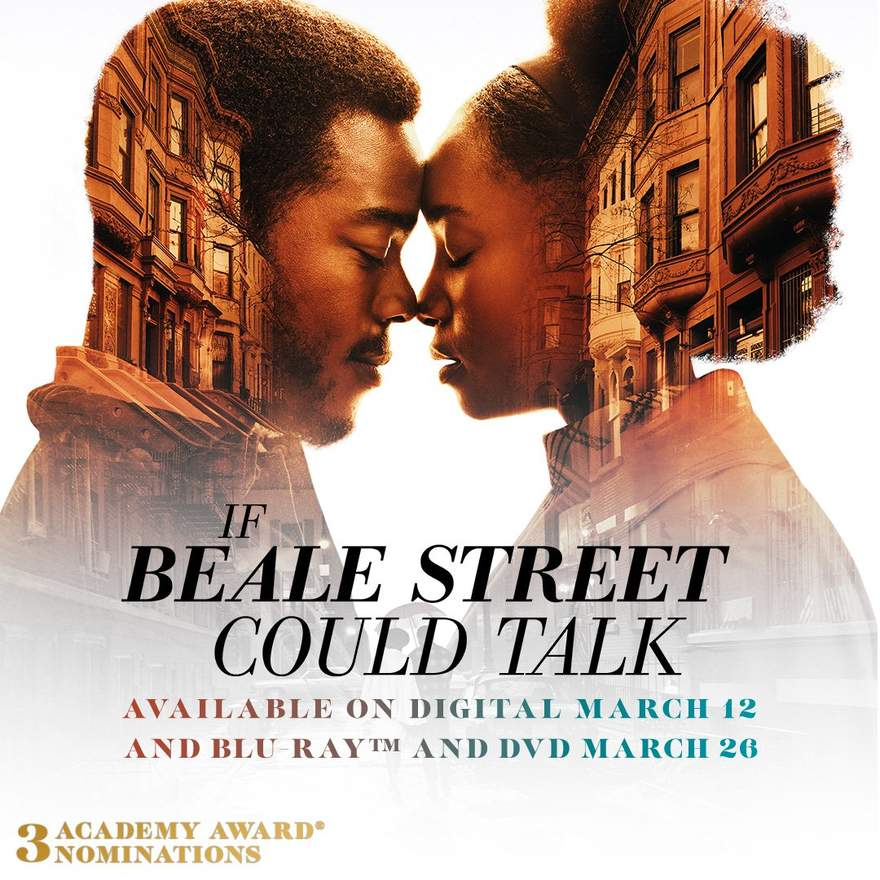 NEWS Oscar nominated 'If Beale Street Could Talk' out now on Digital & Blu-ray/DVD!