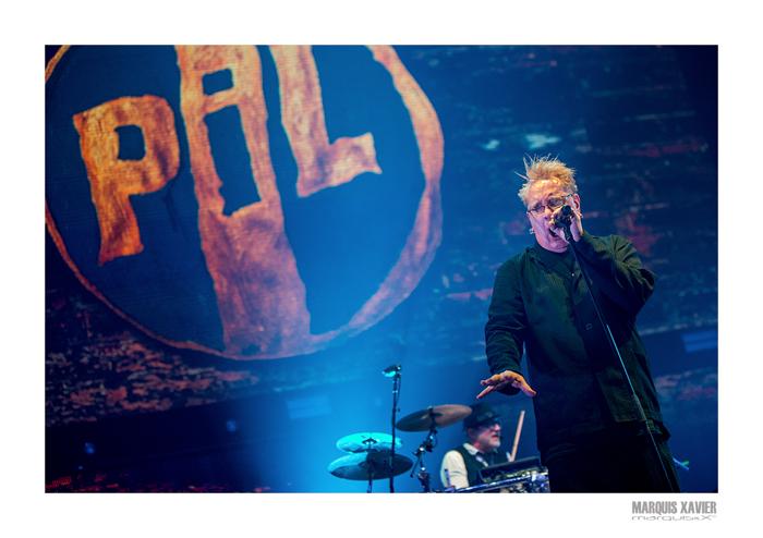 P.I.L. - Sinner's Day, Ethias Arena, Hasselt, Belgium