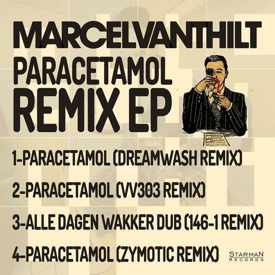 13/12/2014 : MARCEL VANTHILT - Paracetamol Remix EP