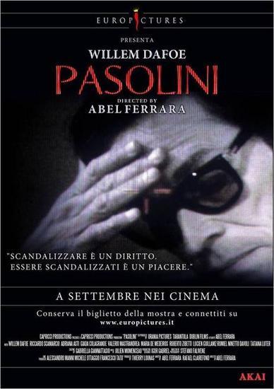 21/10/2014 : ABEL FERRARA - Pasolini (FilmFest Ghent 2014)
