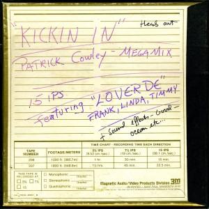 22/09/2015 : PATRICK COWLEY - Kickin' In