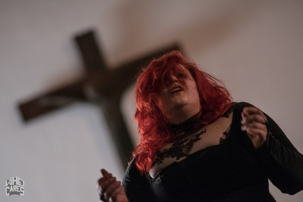 photoshoot PERSEPHONE @ A Mourning hall concert Gelsenkirchen
