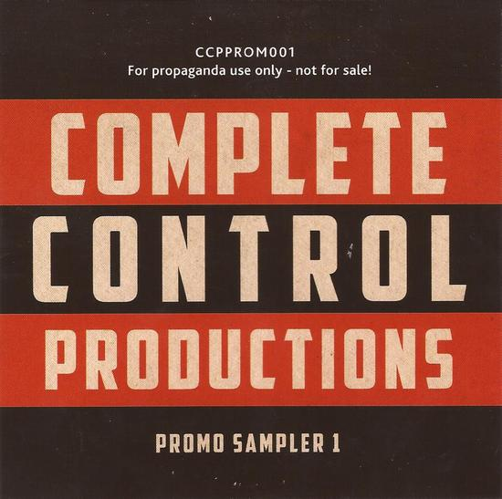 10/12/2013 : COMPLETE CONTROL PRODUCTIONS - Promo Sampler 1