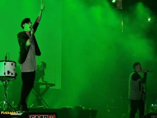 03/08/2015 : RABIA SORDA @ AMPHI FESTIVAL - Köln, 25.07.2015